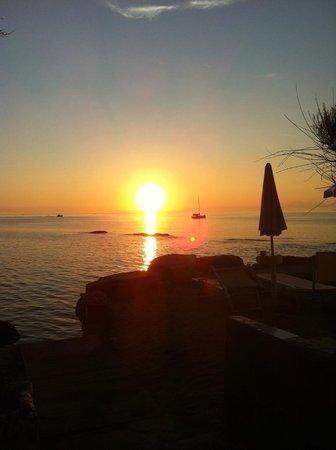Approdo Resort: i meravigliosi tramonti