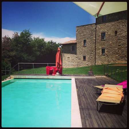 Podere Morico Agriturismo Country House: Infinity Pool Podere Morico