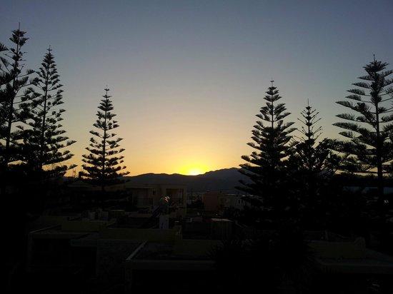 Kastalia Village & Saint Nikolas Hotel: Sunset from my balcony!