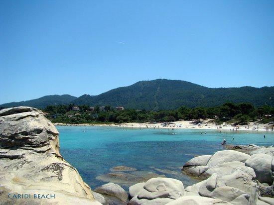 Hotel Diaporos: Пляж Кариди, 15 минут ходьбы