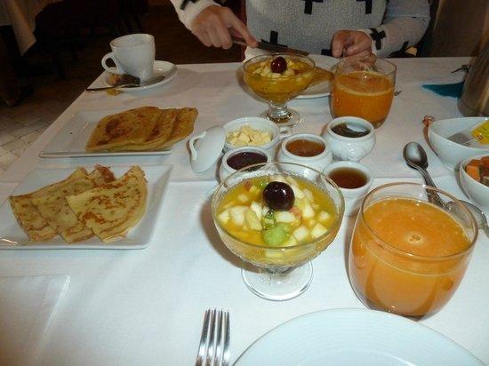 Le jardin d'Abdou: Breakfast