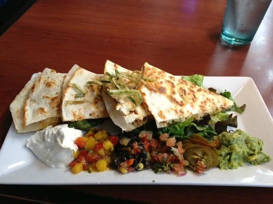 Clear Sky Cafe : Seafood Quesadilla - $11.95
