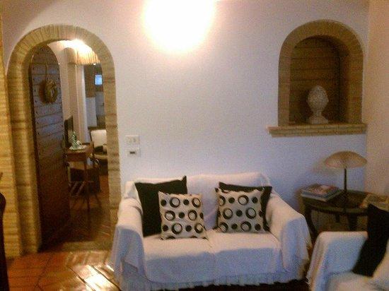 I Capocci: Reception area