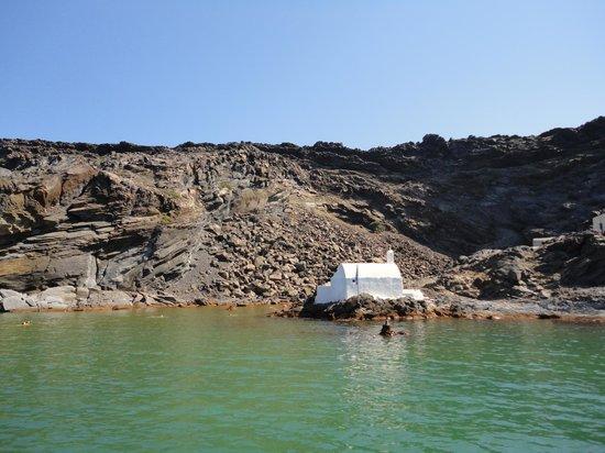 Santorini Sailing : Hot springs.