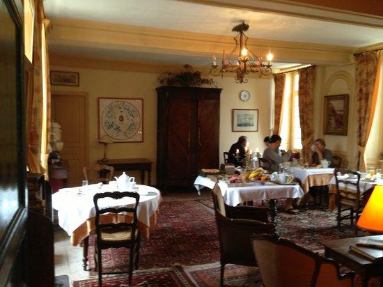Manoir de la Baronnie: Dining Room