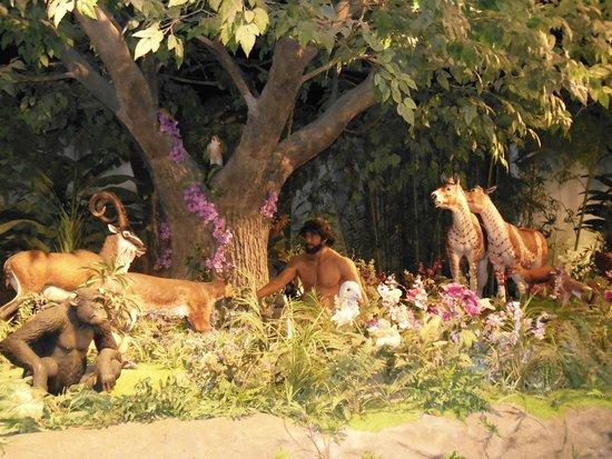 Garden Of Eden Scene Creation Museum Petersburg