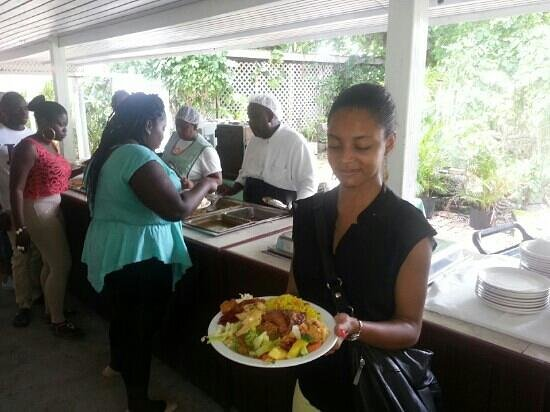 Sunbury Plantation House: lunch