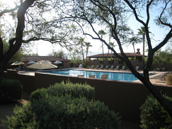 Canyon Ranch in Tucson : One of the Pools