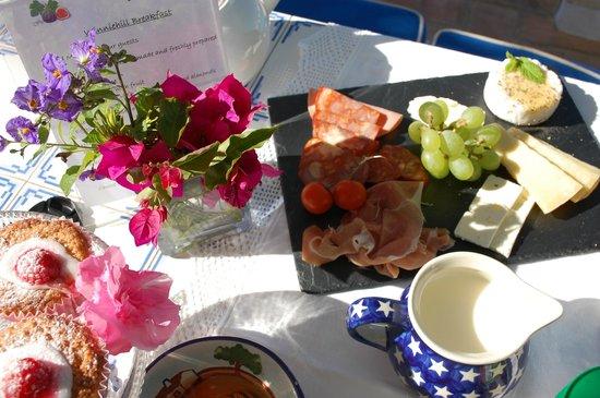 Winniehill Bed & Breakfast : breakfast