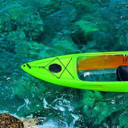 Clear Kayaks Maui : Beautiful tropical waters of Maui, HI