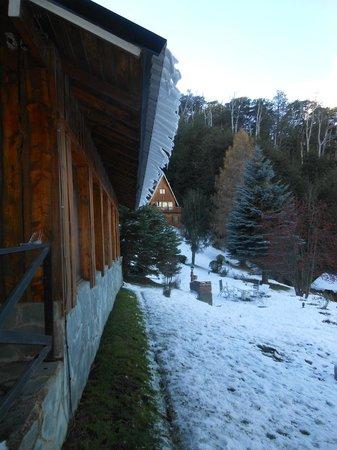 Villa Panil: Despues de la nevada la helada!!!