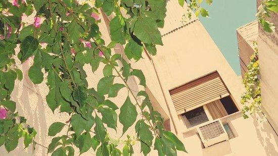 Nuevo Castillo Hotel: Vista hacia una de las habitaciones