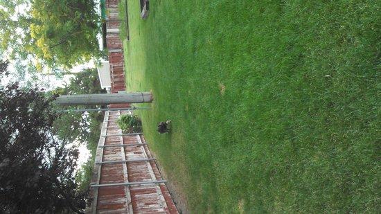 Ontario Inn: Private dog park.
