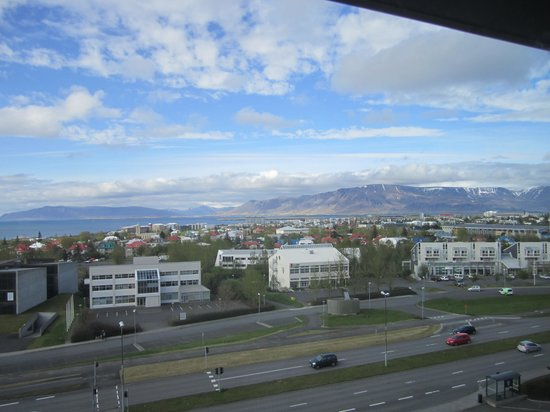 Hilton Reykjavik Nordica: View from our room