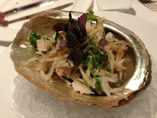 Park Avenue Autumn/Winter/Spring/Summer: crab salad is light and refreshing