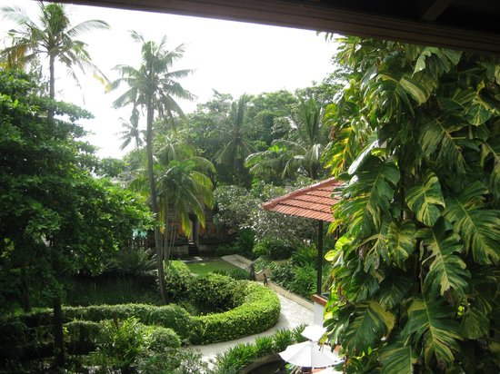 Bali Garden Beach Resort: View from upper room