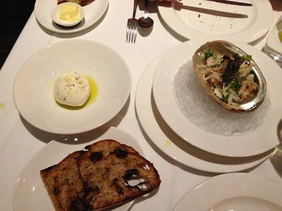 Park Avenue Autumn/Winter/Spring/Summer: burrata is delicious
