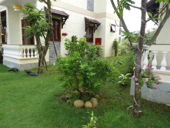 Hoi An Green Field Villas : garden