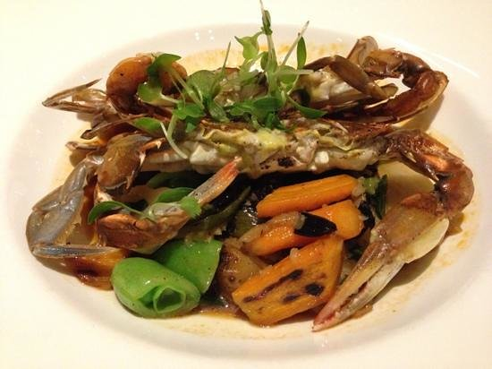Park Avenue Autumn/Winter/Spring/Summer : grilled soft shell crab is tasty