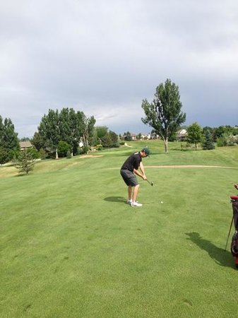 Southridge Golf Club: #10 fairway shot
