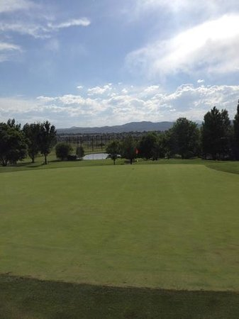 Southridge Golf Club: looking back on green #12