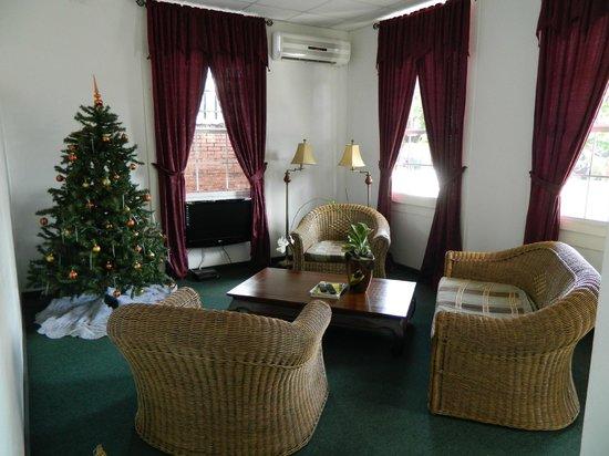 Hotel La Petite Maison: Le petit hall d'entrée