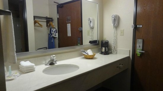 Comfort Inn North Polaris: Sink