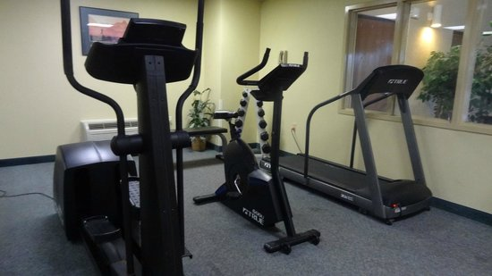 Comfort Inn North Polaris: Fitness room