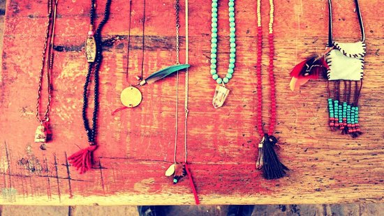 L'atelier by grid : necklaces !
