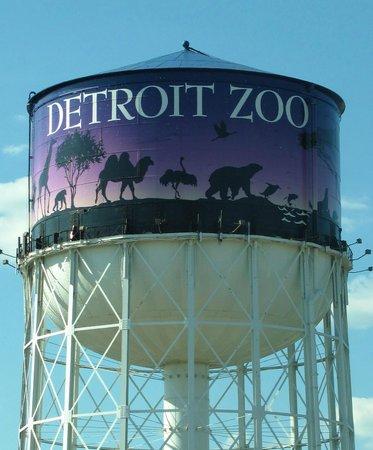 Detroit Zoo Water Tower Picture Of Detroit Zoo Royal Oak Tripadvisor