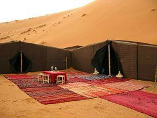 Morocco Travel Land Day Tours: tents berber