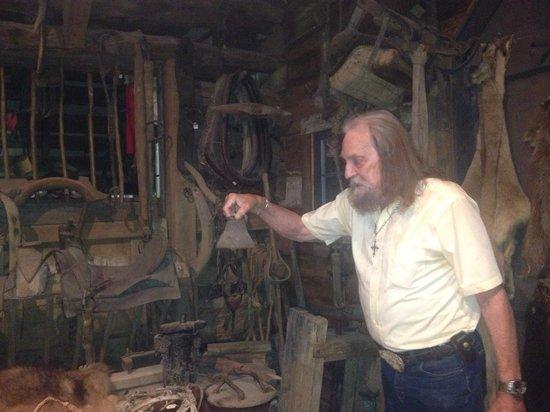 Fort Charrette Historic Village: Mr Crosby