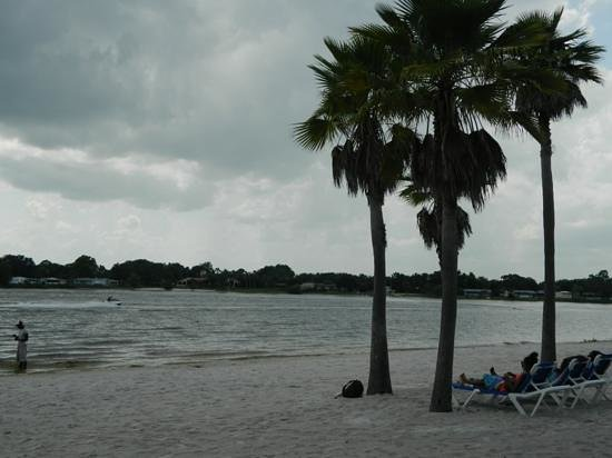 Holiday Inn Club Vacations At Orange Lake Resort: Orange lake where you can rent boats or jet skis