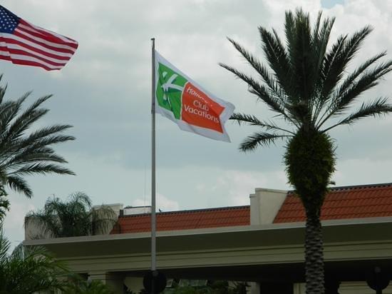 Holiday Inn Club Vacations At Orange Lake Resort: enterance
