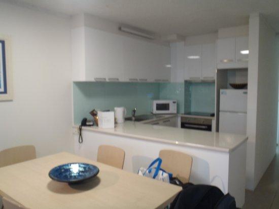 Trickett Gardens Holiday Inn: kitchen