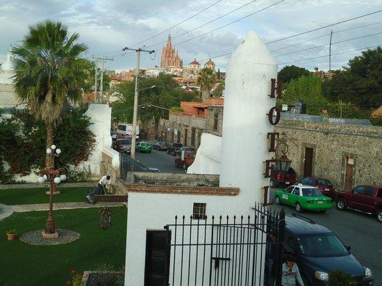 Los Agaves Hotel: Vista