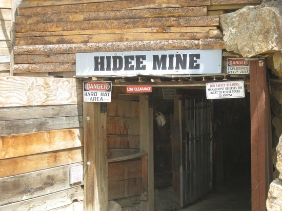 Hidee Gold Mine: Hidee Mine in Central City