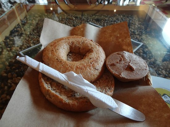 The Bagel Barn: Mayan Nut Cream Cheese! Must Try!