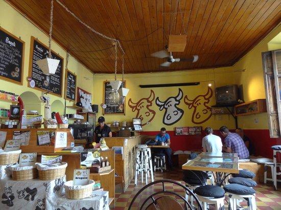 The Bagel Barn: Inside Bagel Barn