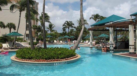 Marriott S Aruba Ocean Club Swim Up Bar At