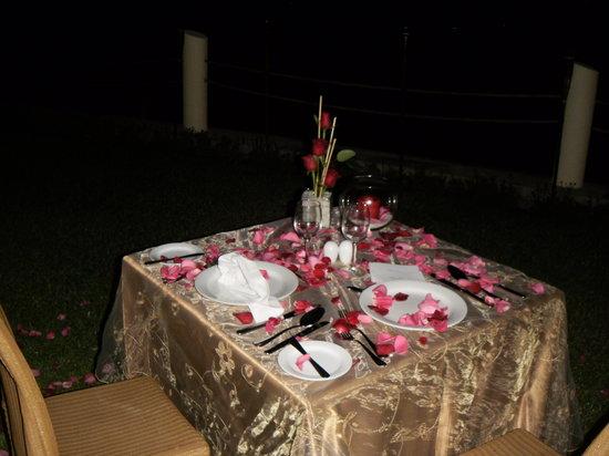 Boca del Rio, México: Cena Romantica.