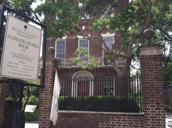 Nathaniel Russell House: She's a beauty