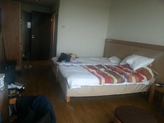 Break Sokos Hotel Flamingo: Bed