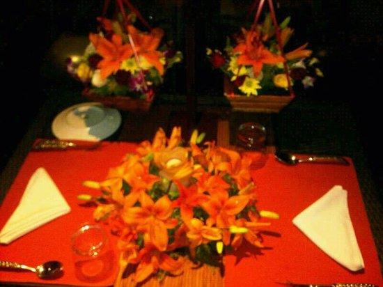 Vivanta by Taj Begumpet: Our Table