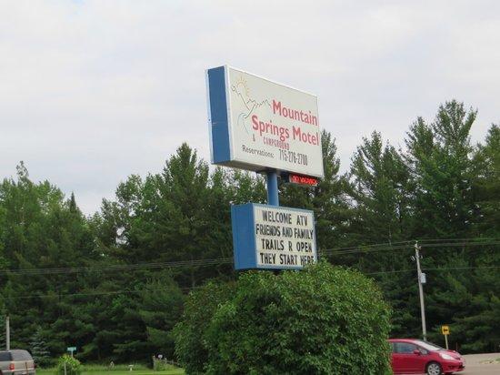 Mountain Springs Motel: destination