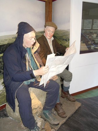 Dales Countryside Museum: People in Train
