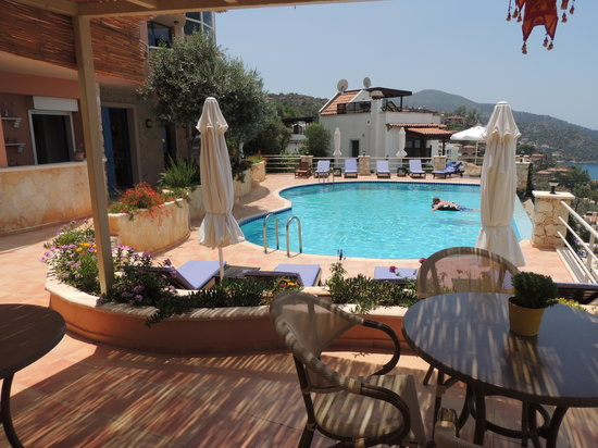Allegra Hotel : Pool and Terrace
