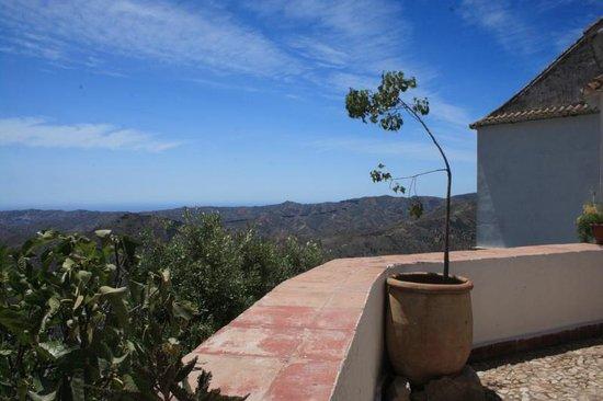 Molino de los Abuelos: Vue depuis le patio