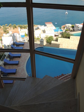 Allegra Hotel : Great views from the staircase!