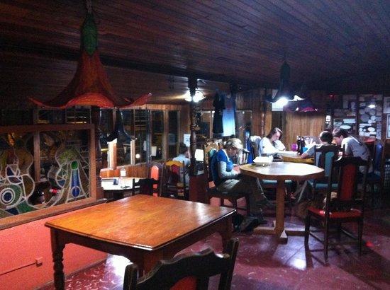 Pension Santa Elena: Lounge area